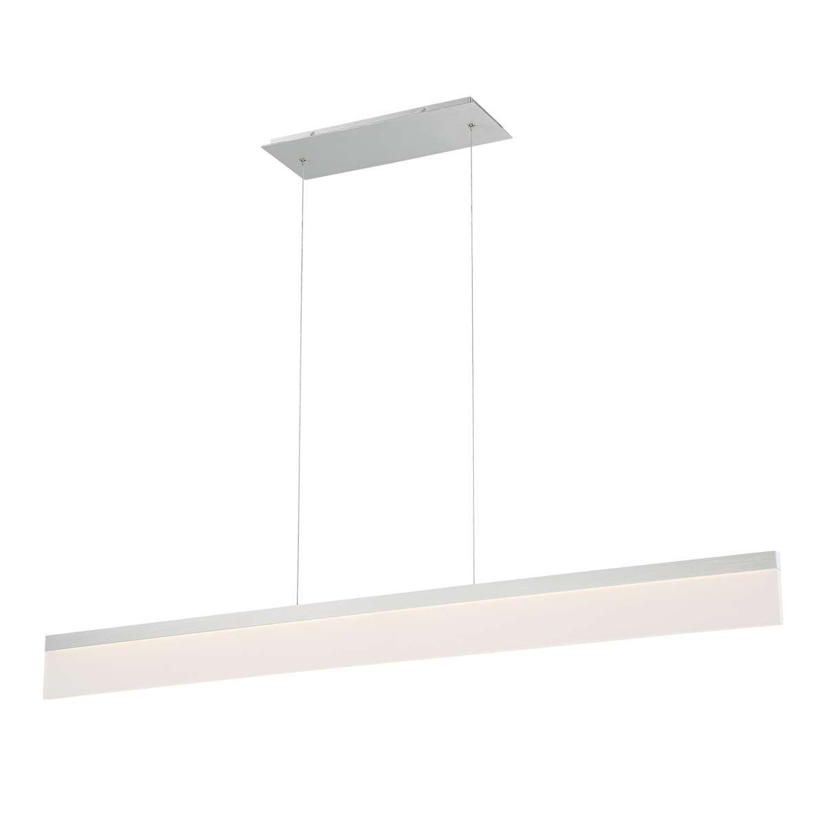 Level led linear chandelier