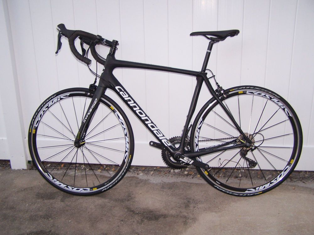 Upgraded 2017 Cannondale Synapse Carbon 56cm Road Racing Bike Road Racing Bike Cannondale Road Racing