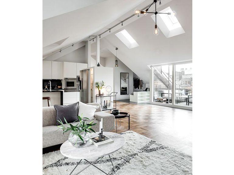 Pin di chiara sgarella su illuminazione e complementi d for Appartamento design industriale