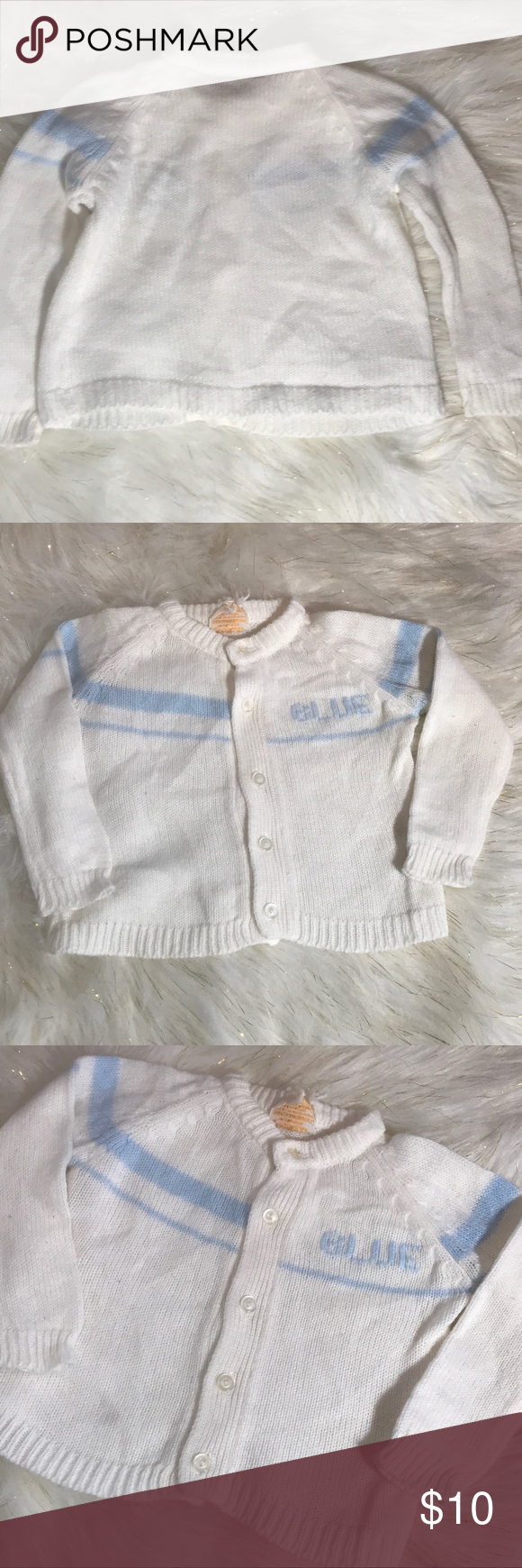 Clothing, Shoes & Accessories Baby & Toddler Clothing Vintage Baby Boys Sweater Friemanit Size Medium