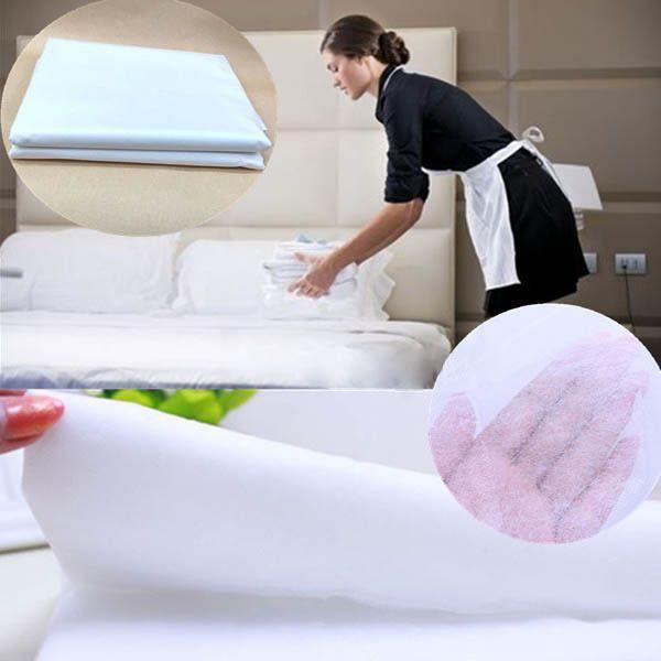 Es Gadgets Disposable Non Woven Bed Sheet Home Hotel Travel Waterproof Mattress Bid
