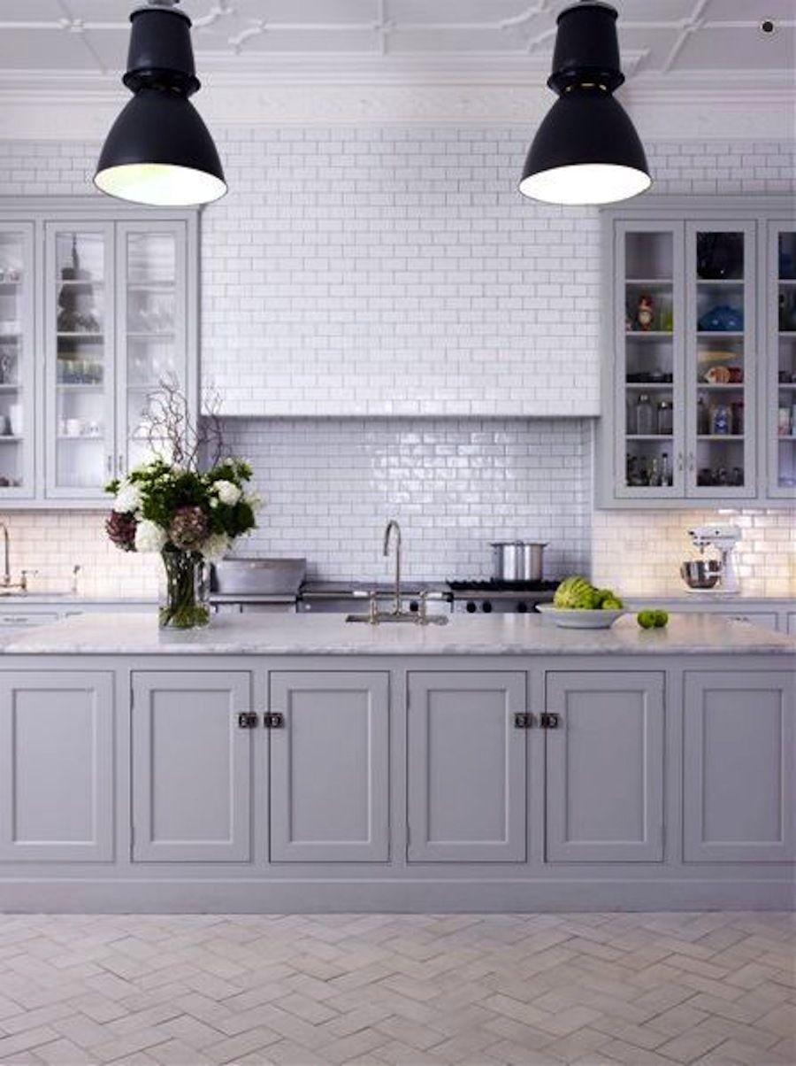 stunning gray kitchens in future house pinterest