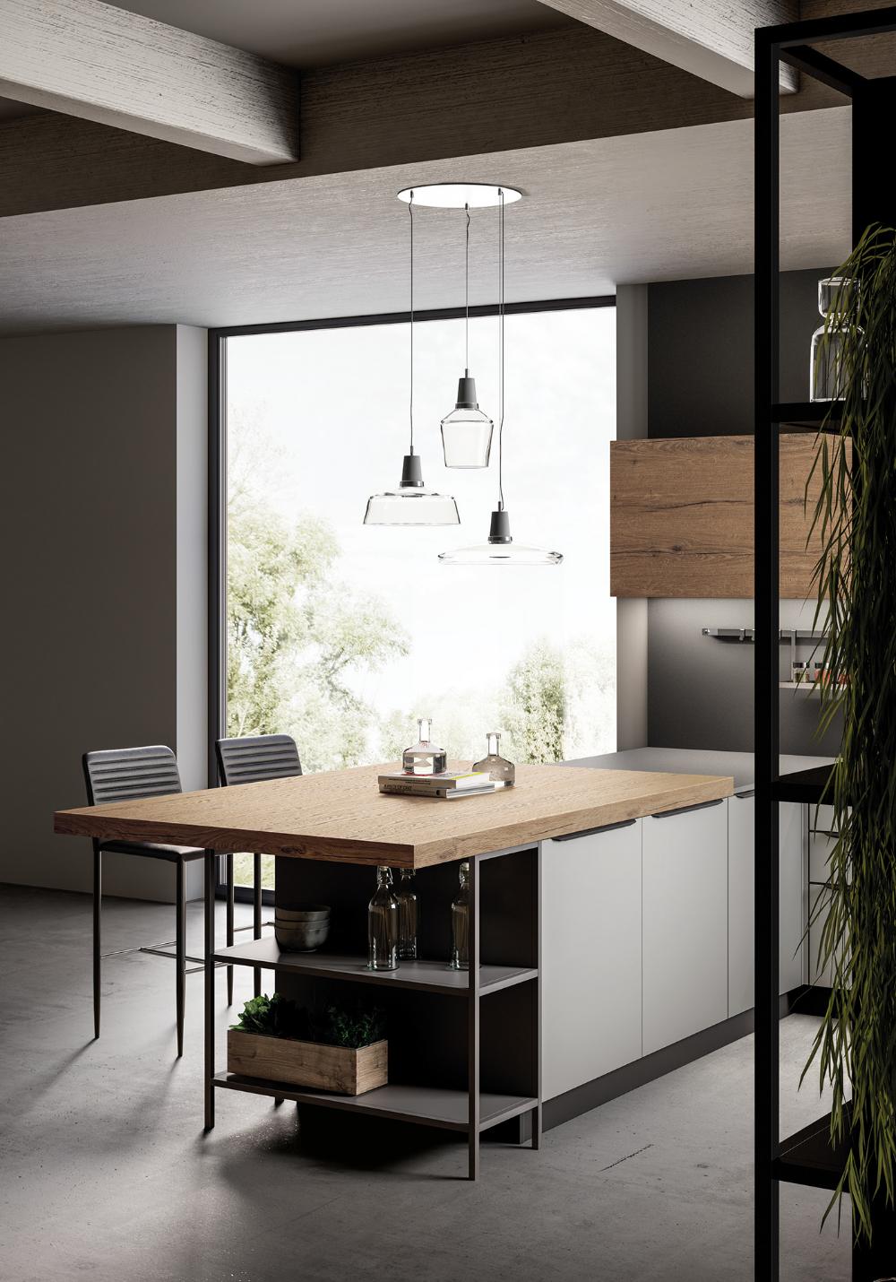 Kitchen 2019 on Behance Distressed kitchen