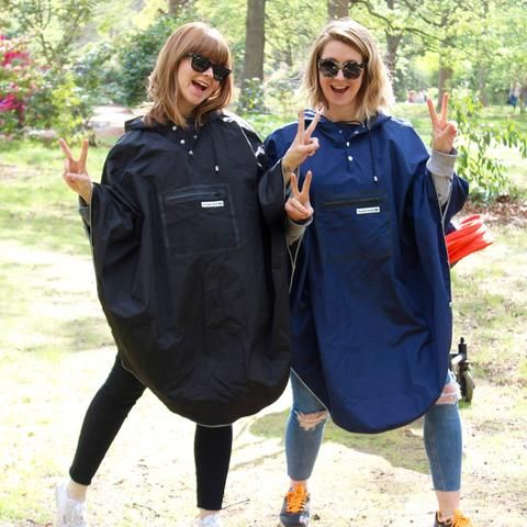 Women/'s Rain Jacket Raincoat Poncho Rain Women/'s Rain Cape Women/'s Waterproof UK