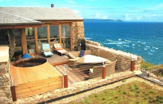 Inside Luxury Beach Homes beach house cornwall - beach house cornwall, luxury cottage in