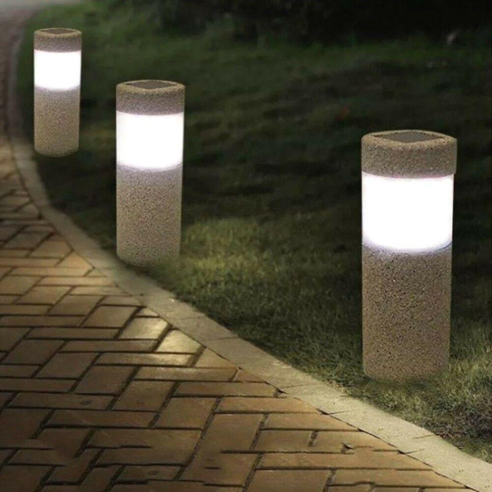 Waterproof Led Garden Light Yard Path Lamp Solar Power Outdoor