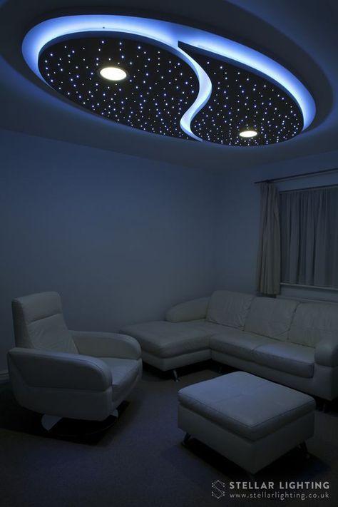 Yin and Yang custom made starry sky LED ceiling lighting   Kids ...