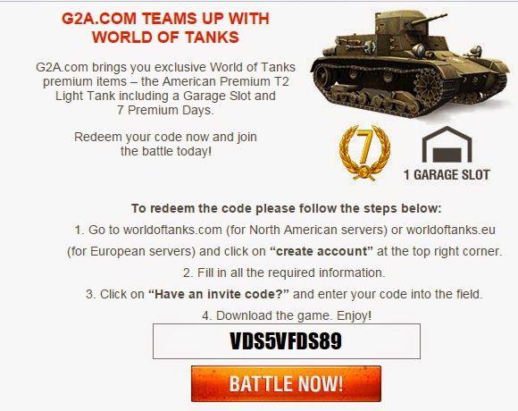 World of Tanks: Universal invite code for World of Tanks | world of