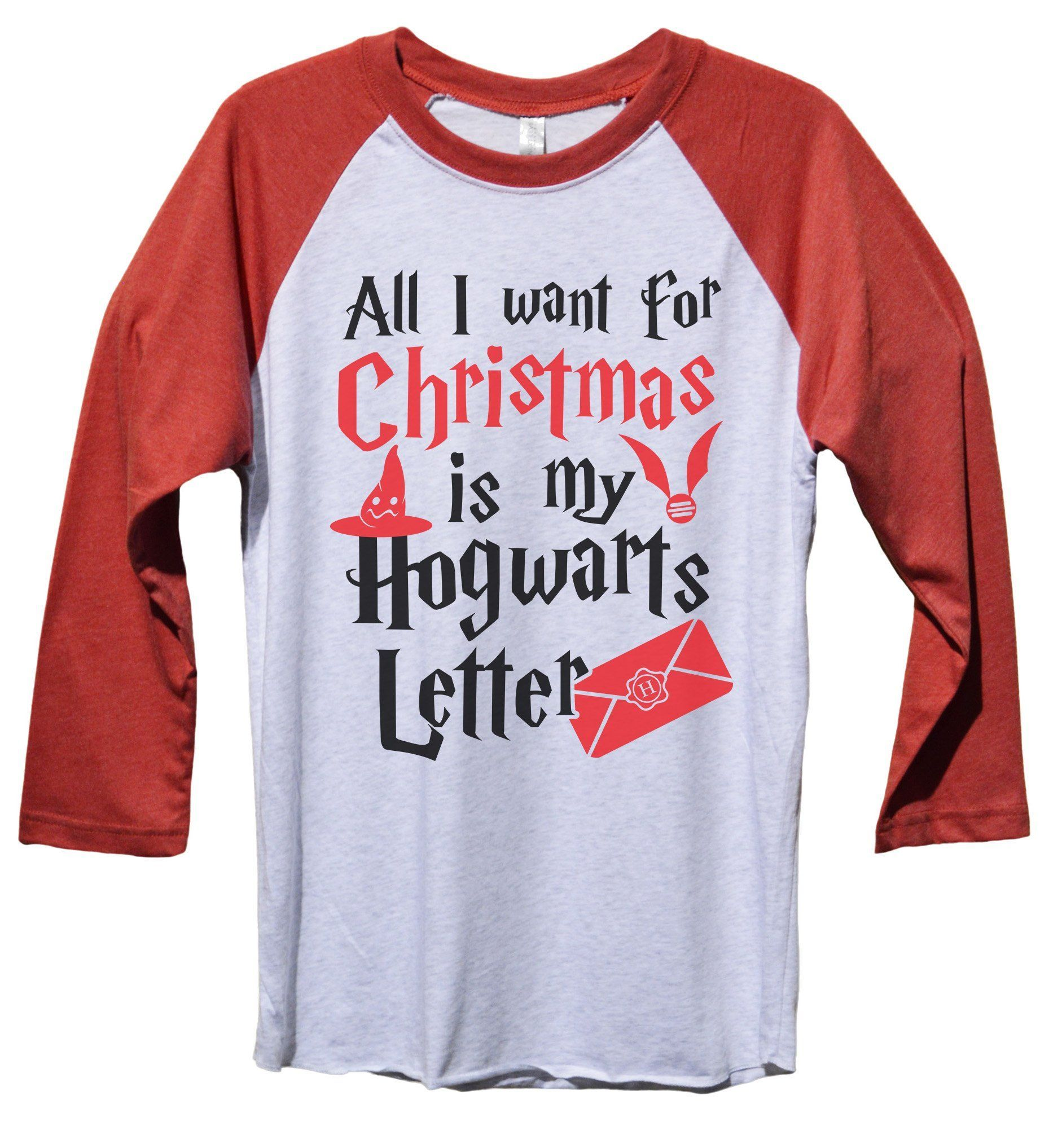 All I Want For Christmas Is My Hogwarts Letter Funny Christmas