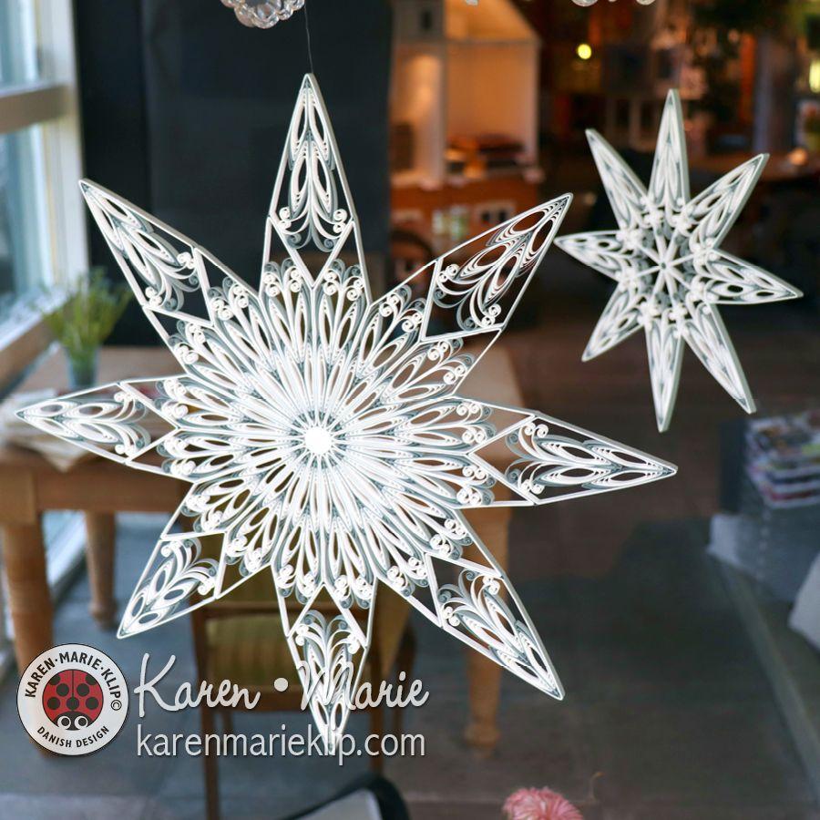 Karen Maries Star Quilling Lanterns Kit Angela /& Gabriella