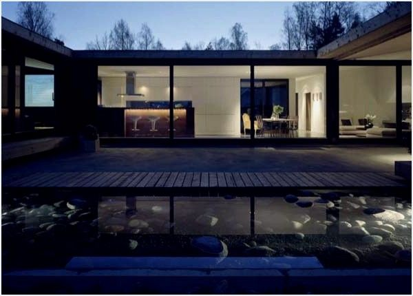 This private residence the h house by wrb architects in the archipelago of stockholm is a perfect balance of architectural elemen