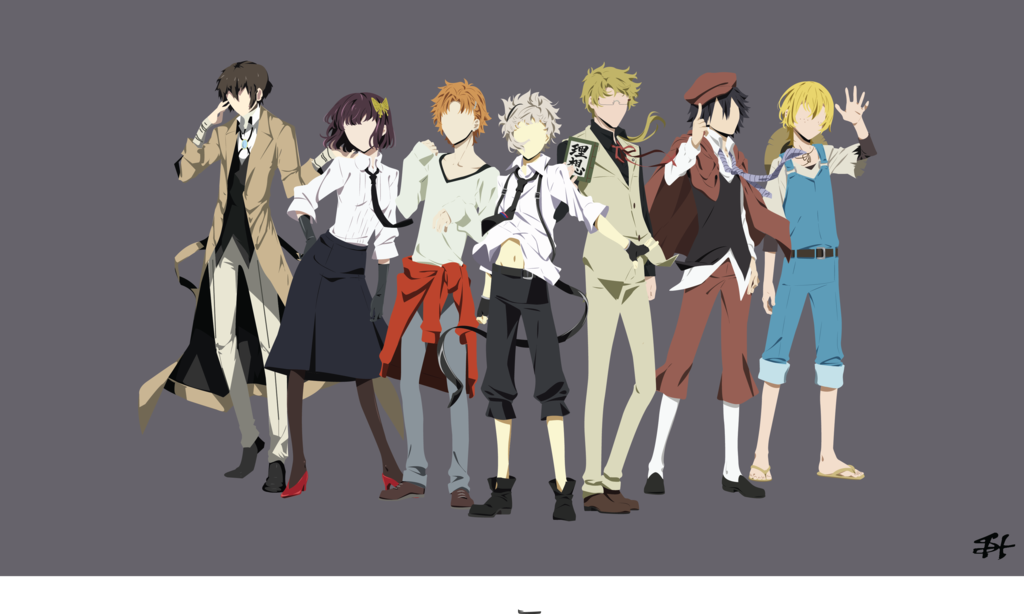 Armed Detective Company Bungou Stray Dogs V1 By Slezzy7 Bungou Stray Dogs Stray Dogs Anime Stray Dog