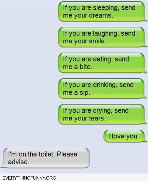 funny text messages if you are crying send me your tears i'm