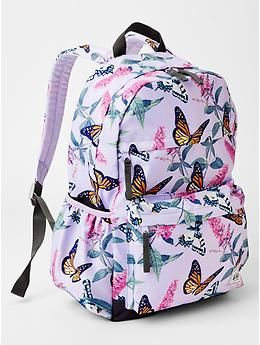 1fcaf9c929 Printed senior backpack - Meet the bigger + better cool-kid accessories for  every size