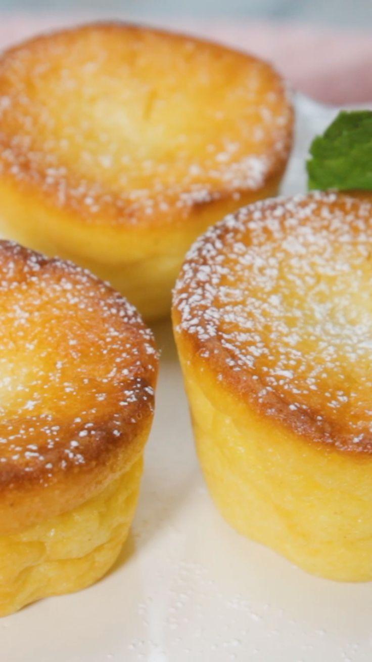 Quarkkuchen-Muffins