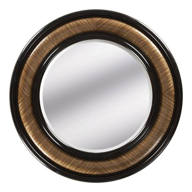 Beverly Foyer Mirror : Wall mirrors luxury designer zebra wood mirror so
