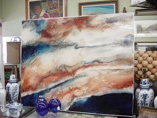 resin painting - Recherche Google