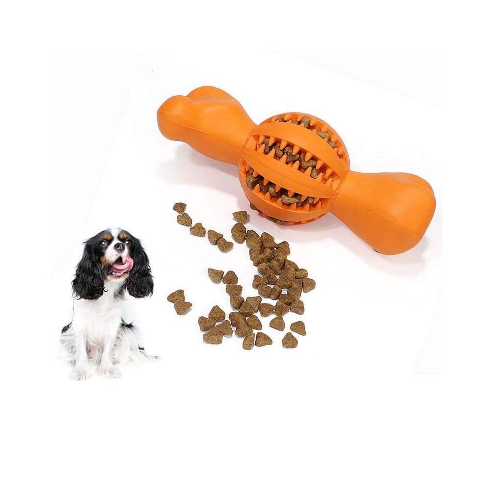 Niustyle Dog Chew Toy Durable Food Ball Bone Toys Chewing Iq Treat