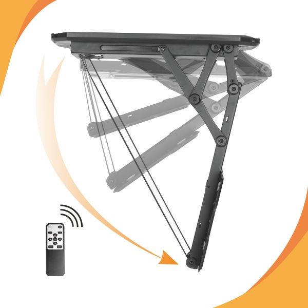 Quot Ceiling Mount Bracket For Tvs Height Adjustable Tv Mount