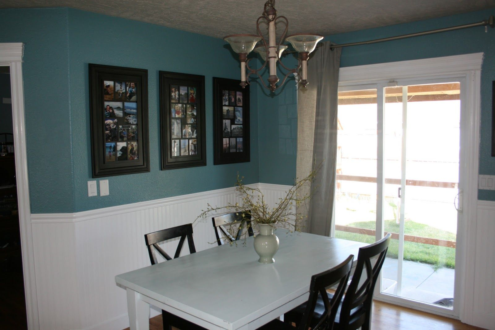 beadboard wallpaper with teal paint - Google Search | For the Home ...