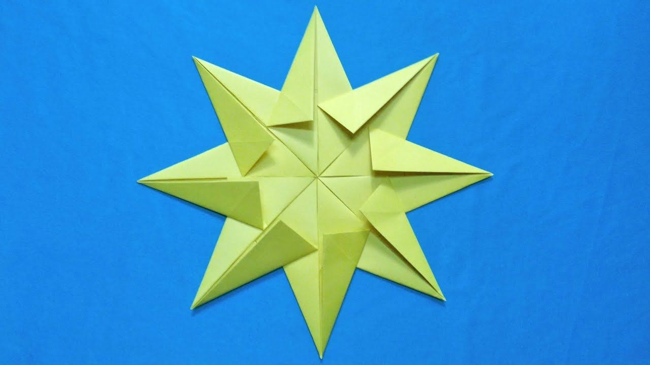 3d Paper Star For Christmas Diy Paper Christmas Decoration Idea Paper Christmas Decorations Diy Christmas Paper 3d Paper Star