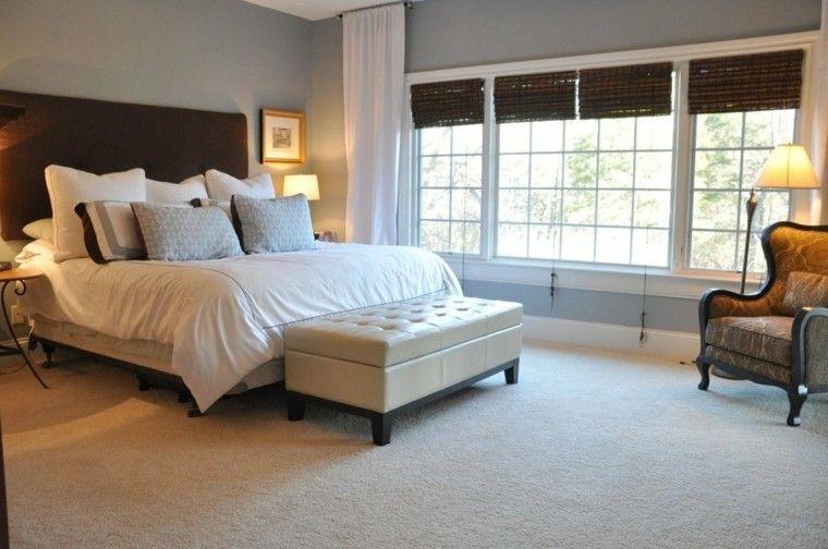 Bout de lit coffre, un meuble de rangement astucieux ...