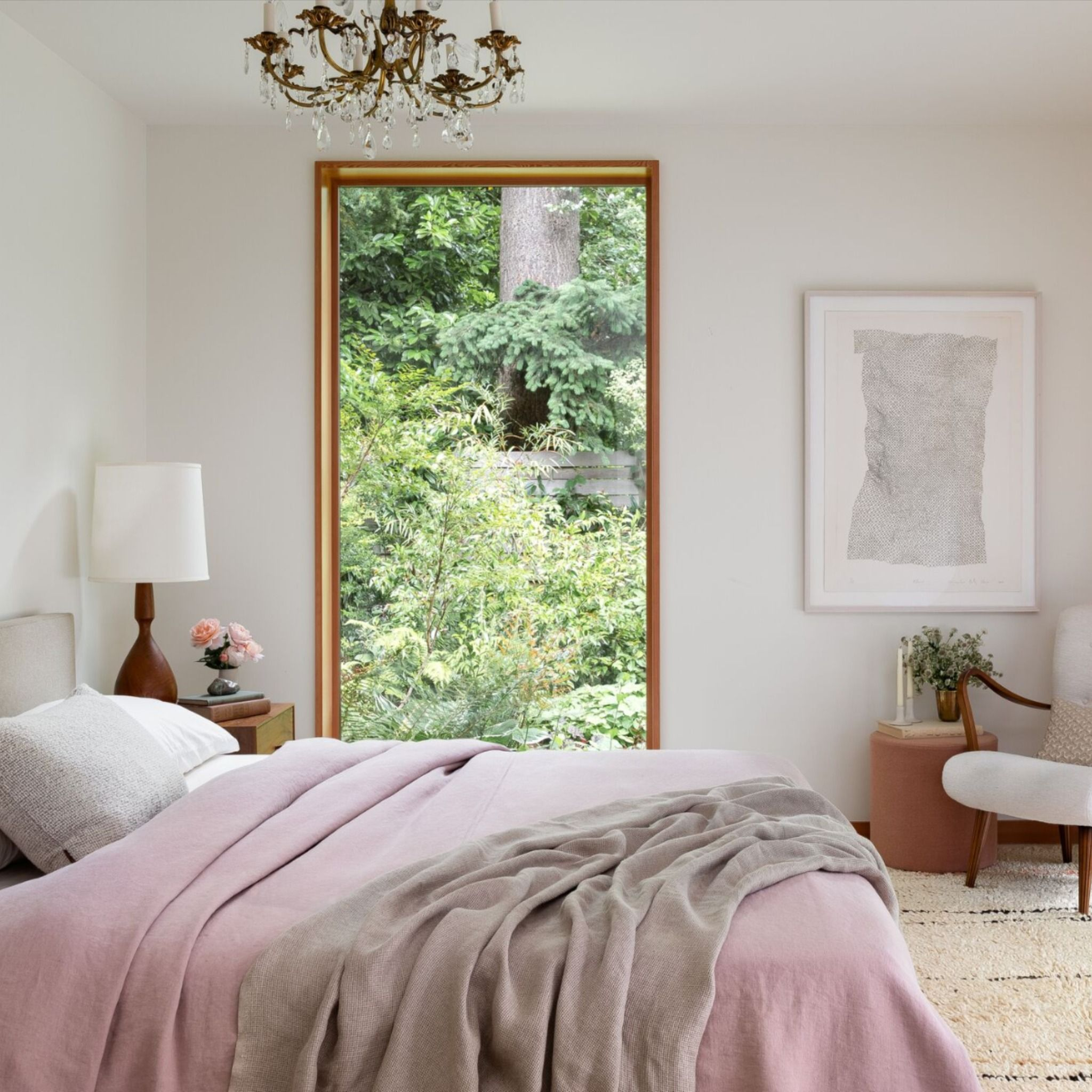 Home Tour A Seattle House With Stunning Garden Views Home Bedroom Color Schemes Seattle Homes