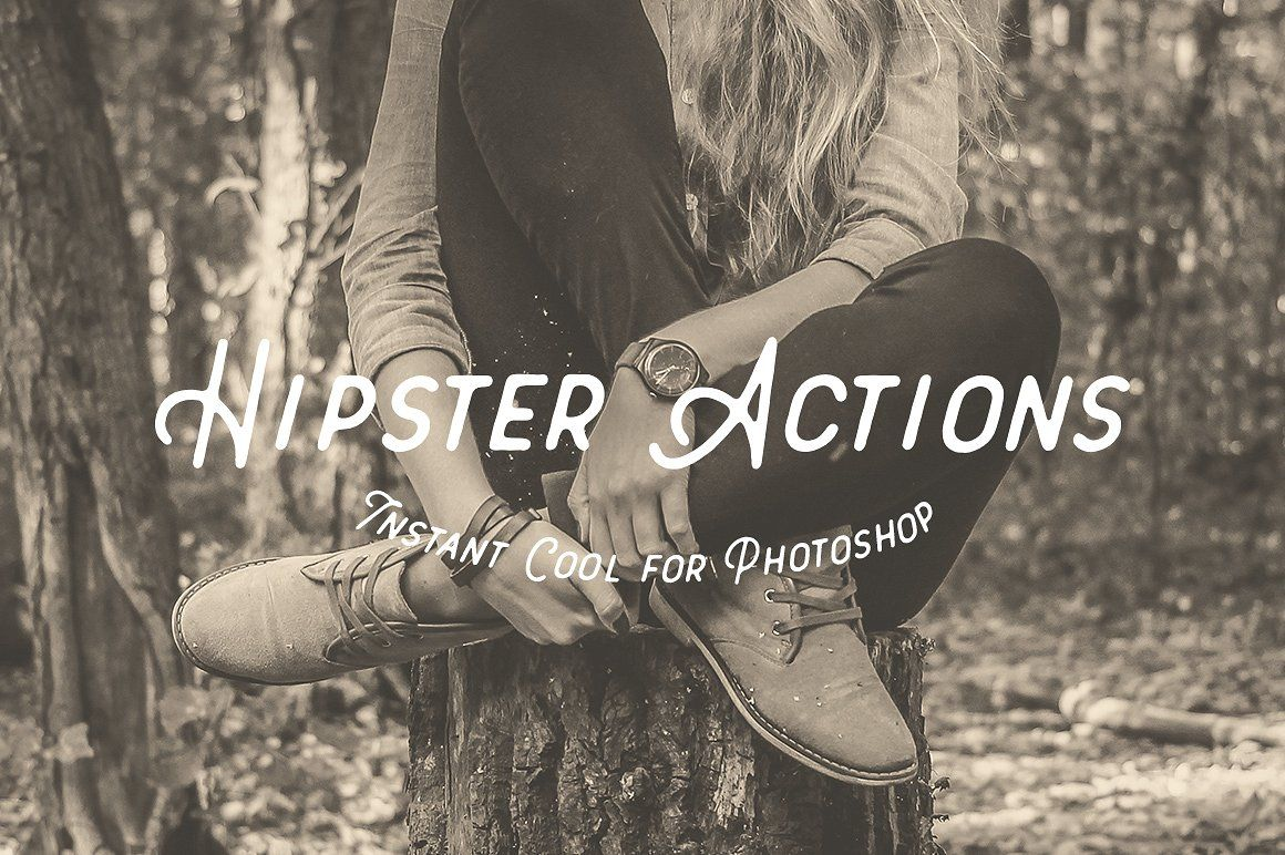 Hipster Tones - Insta Cool Actions #web#simple#vintage