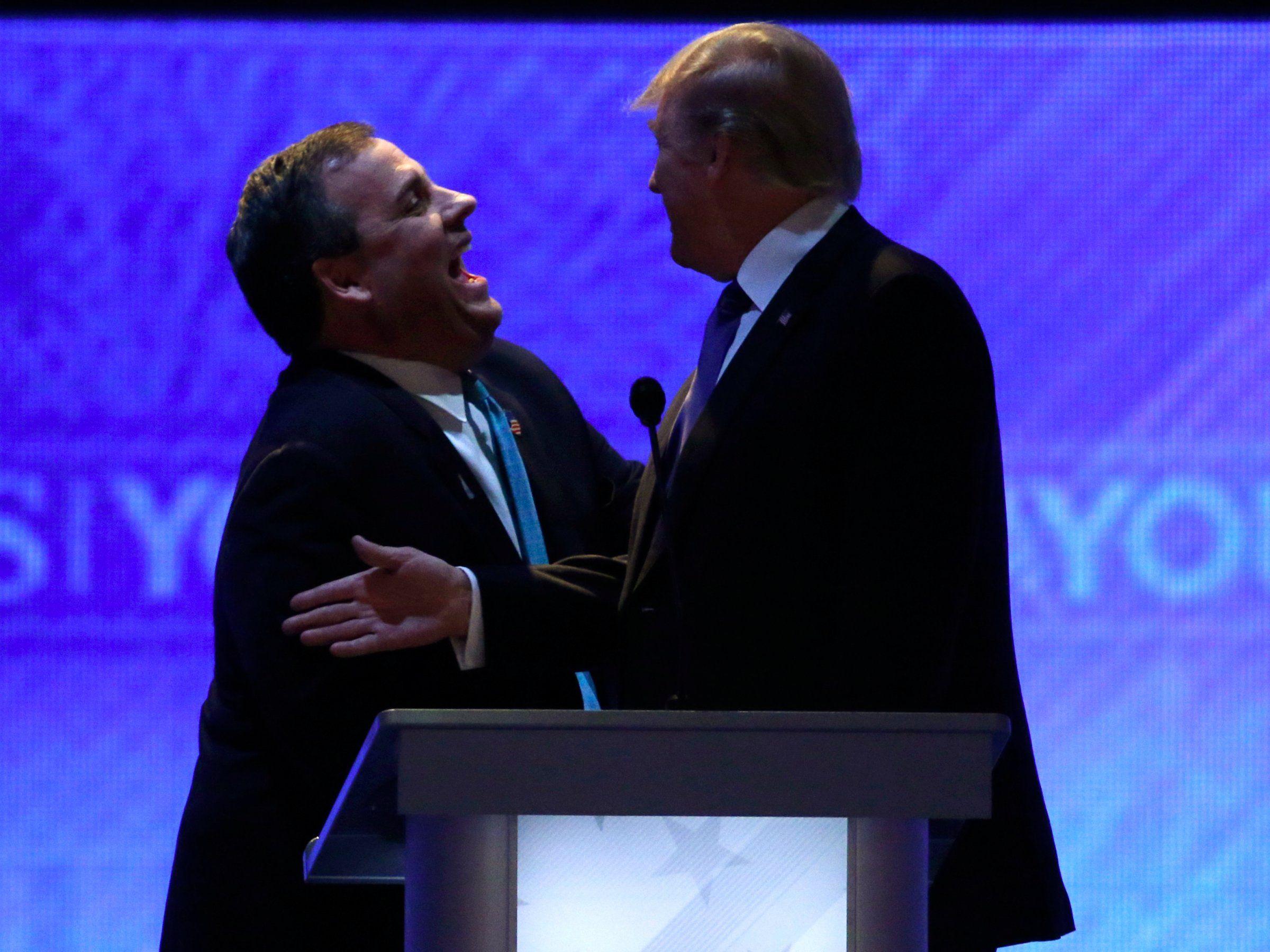 Trump will pick Chris Christie as his vicepresidental