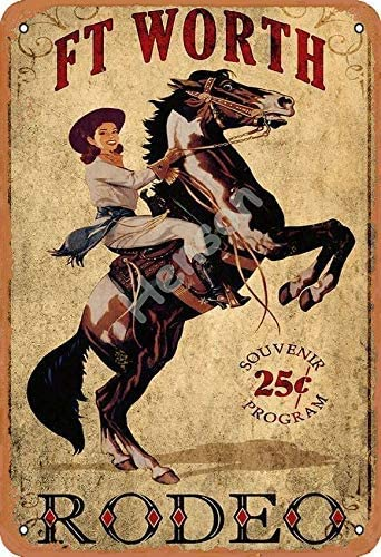 rodeo poster texas poster cowgirl art
