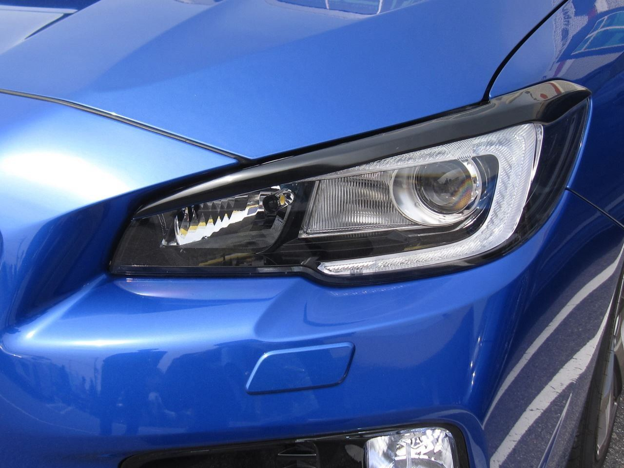 ams headlight eyebrows - 2015 wrx / 2015 sti - headlights