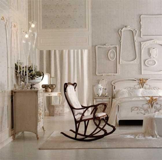 Wait An Art Nouveau Rocking Chair Interior Decorating