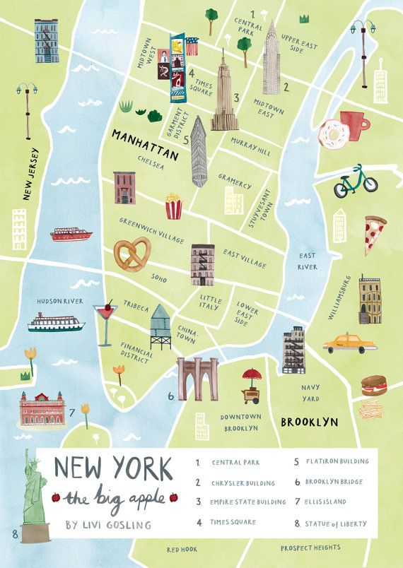 Pin By Sharon Art On Wall In 2020 Map Of New York New York City Map Illustrated Map
