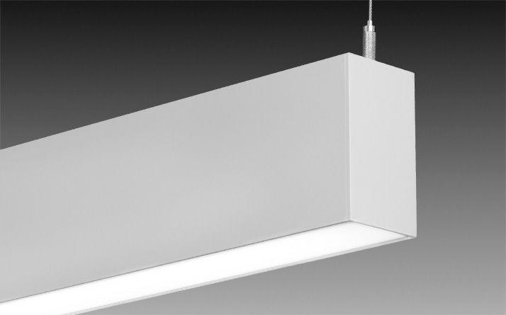 suspended linear lighting. Seem 2 Suspended Linear LED Pendant Light By Focal Point 24\ Lighting