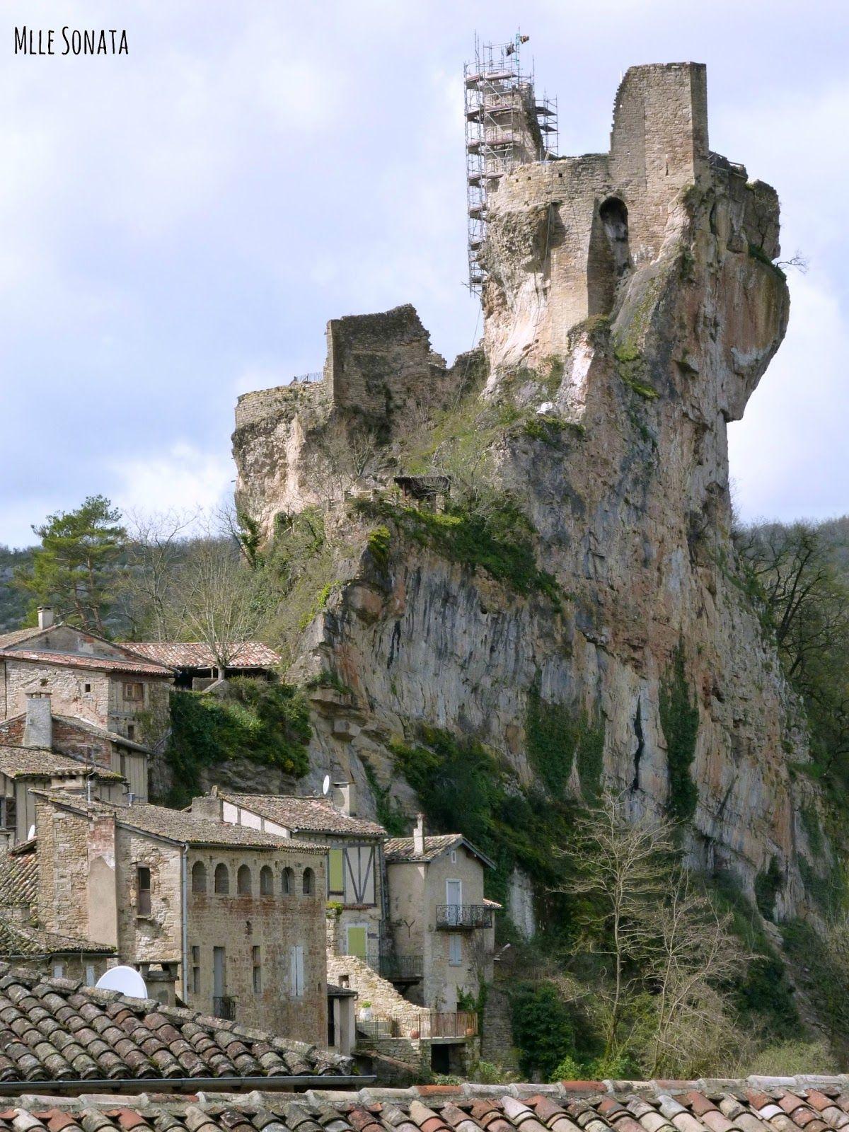Resultado de imagen para Fortaleza y chateau de Penne,