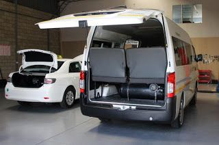 Africa Electric Car: Minibus taxis go green(er) with LPG