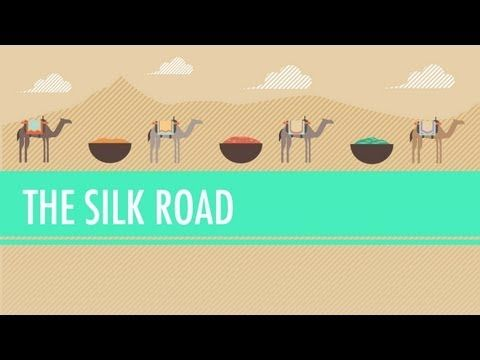 The Silk Road and Ancient Trade:in a nutshell In which John Green teaches you about the so-called Silk Road, a network of trade routes where goods such as ivory, silver, iron, wine, and yes, silk were exchanged across the ancient world, from China to the West.