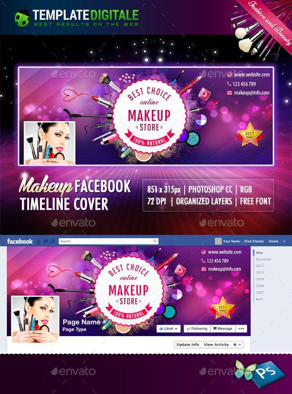 Makeup Timeline Timeline, Facebook timeline and Makeup - advertising timeline template