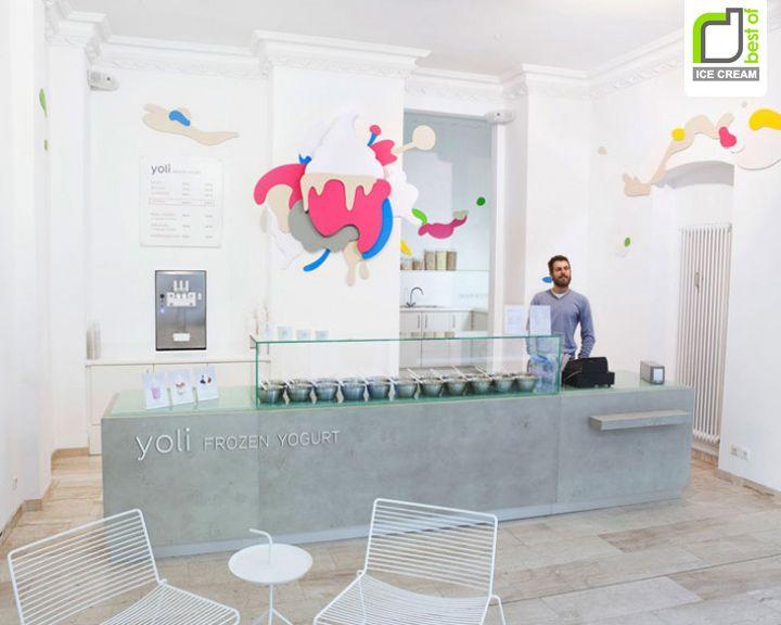 ICE CREAM! Yoli frozen yogurt by Amseldrossel, Berlin store design