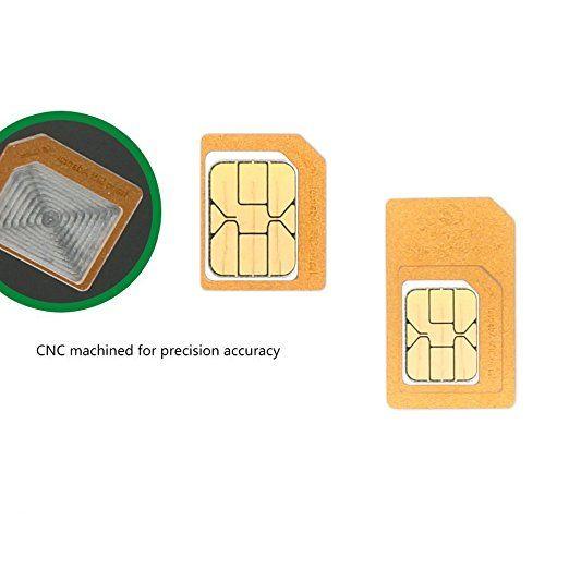Amazon Com Ciscle Sim Adapter Nano Sim Card Micro Sim Card Sim Card Adapter 5 In 1 White Sim Card Sim Card Adapter Sim Cards Cell Phone Accessories