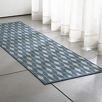 Aldo Blue Indoor-Outdoor 2.5\'x8\' Rug Runner | HOME | Pinterest ...