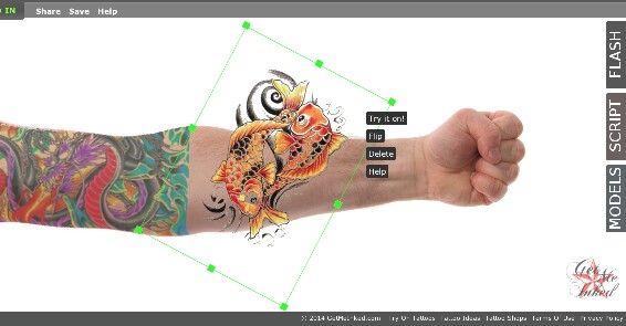 Try It On @ Getmeinked.com #Tattoos #TheGMICrew #TryItOn #getmeinked.com #tattooideas #tattoodesigns #tattootechnology #tattoo  #sleeves #koifish #japanesetattoos