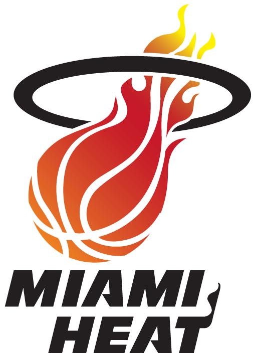 Evolution Of The Miami Heat Logo Sports Logos Miami Heat Logo Miami Heat Miami Heat Basketball