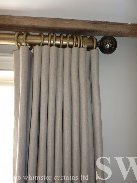 Cartridge Pleat Very Nice Pole Curtains Curtain
