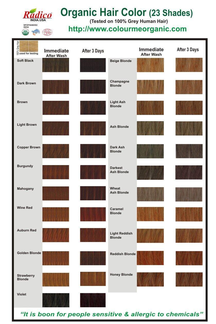 Coloration Pour Cheveux Biologique Colour Me Organic 100g En