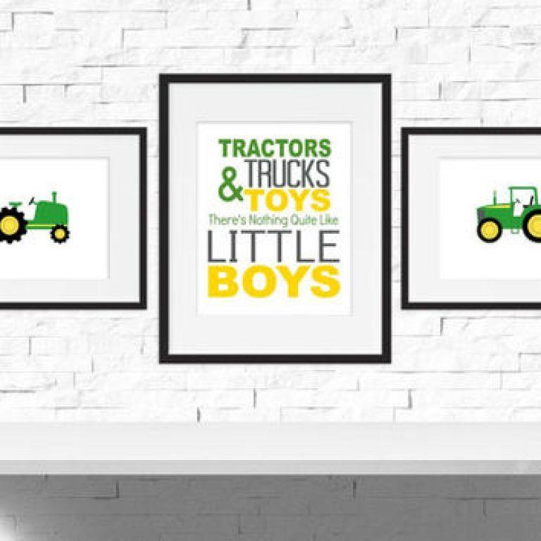Pin By Judy Brand On Kids Bedrooms Pinterest Bedroom Kids Best Tractor Themed Bedroom