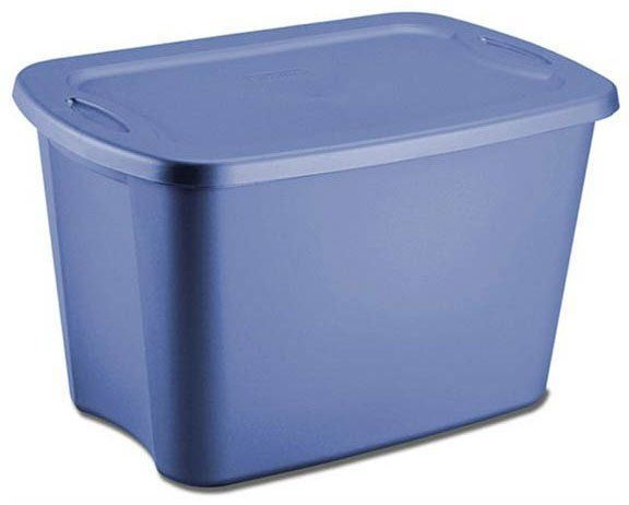 Plastic Storage Box Set Of 6 30 Gallons 99 99 Plastic Box Storage Sterilite Storage Bins