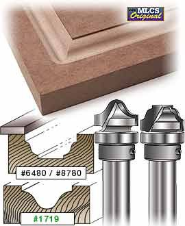 Mlcs Raised Panel Carbide Tipped Router Bits 2 Router Bits Woodworking Router Bits Diy Router