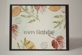 stampin up french foliage - Google Search