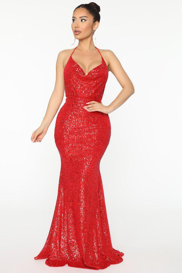 Park Art My WordPress Blog_Fashion Nova Red Sequin Dress